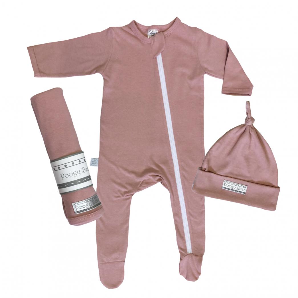 Essential 3-Piece Basics Starter set Dusty Pink