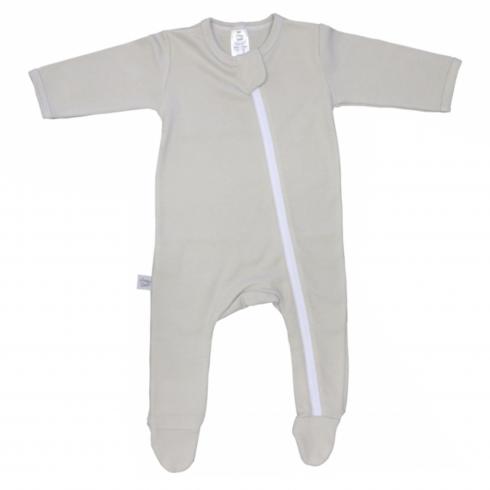 Essential Babygrow Romper Basics Stone