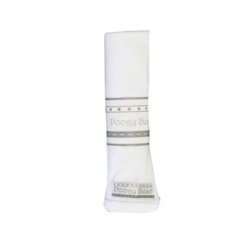 Essential 1-Piece Swaddling Blanket Basics White
