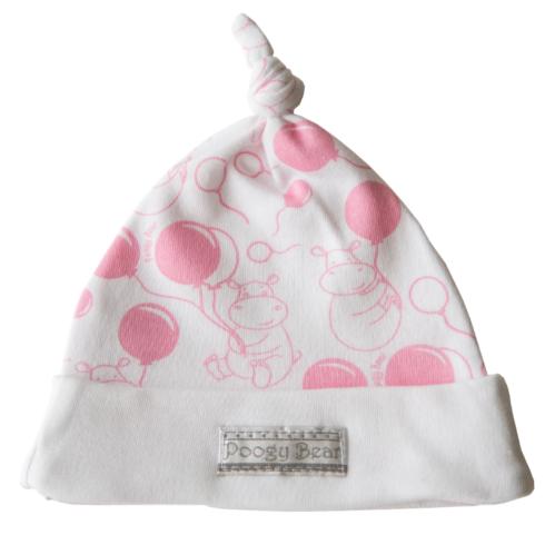 Pink Hippo Beanie