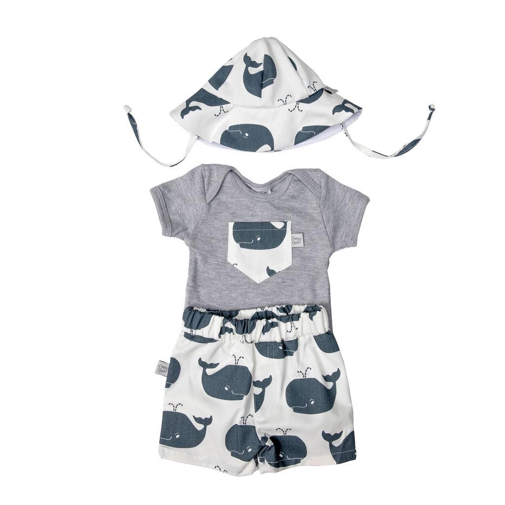vest and shorts set